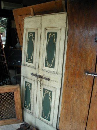Vendita porte antiche pannelli termoisolanti for Porte antiche rustiche