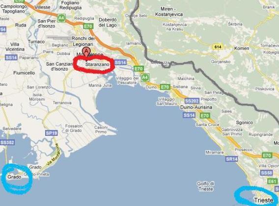Aeroporto Ronchi Dei Legionari : Apart maretango