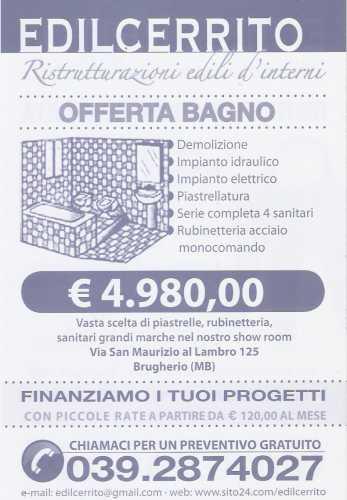 Ristrutturazione del bagno a milano ristrutturazione appartamenti e negozi ristrutturare il - Bagno completo chiavi in mano ...
