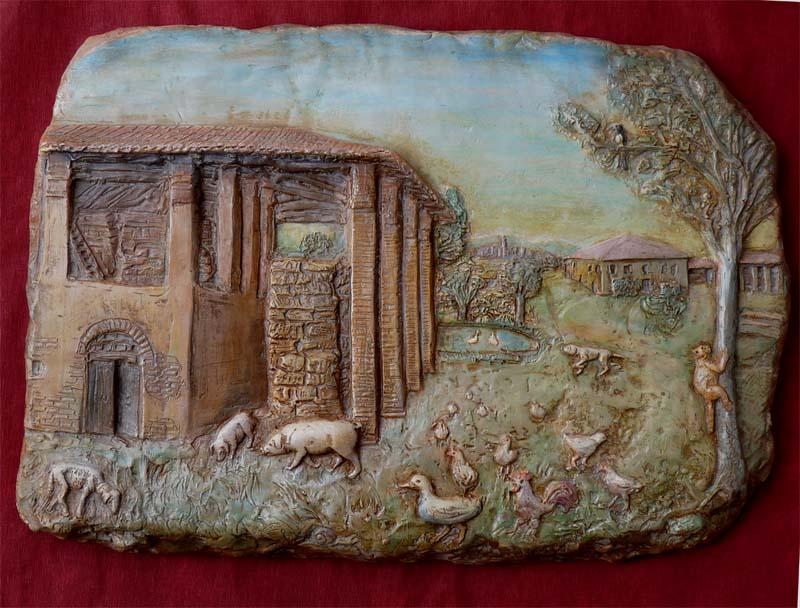 Bassorilievi in scultura terrecotte for Planimetrie personalizzate della fattoria
