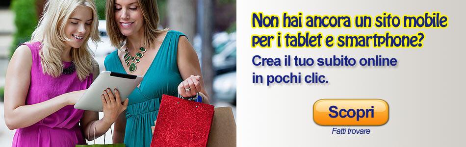 Creazione sito online vendere on line creare sito for Sito mobili online